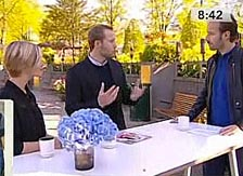 Emma and Yuri Arcurs on Danish TV